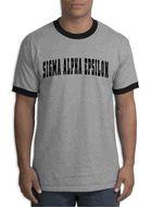 Sigma Alpha Epsilon Ringer T-shirt