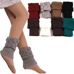 Underwear & Sleepwears 100% True Boot Cuffs Knit Leg Warmers Womens Button Boot Socks Gaiters Ladies Legwarmers Crochet Boot Toppers Winter Fall Calcetines