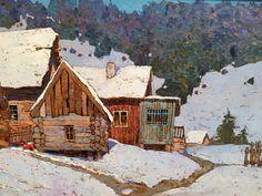 Winter by Denis Sarazhin