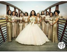 25 Black Brides Who Slayed Their Big Day | Gowns Galore | Pinterest ...