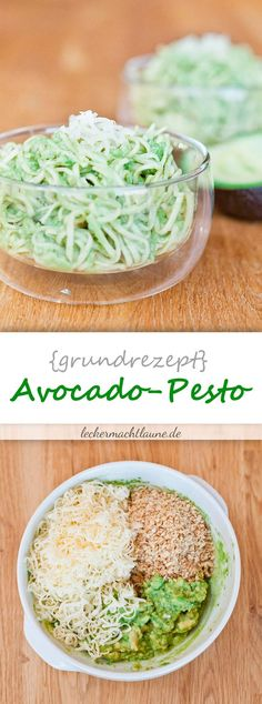 Avocado-Pesto {grundrezept}