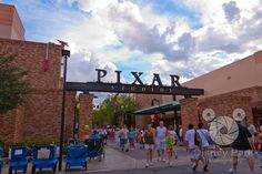 Pixar Place, Hollywood Studios, Disney World, I don't think we went here our last disney trip, def going this time when we go in 2015!!