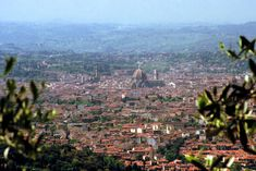 LIVING TRAVEL - ITALY - Florence - view from Fiesole