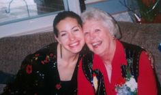 Here's Aymee with her grandma. Check out the comments below! We asked Aymee to not hold back and give us a dream wish list of BIG wants! And she gave and then some! We LOVE!