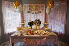 Here Comes Baby: Layla's 1st Birthday Party