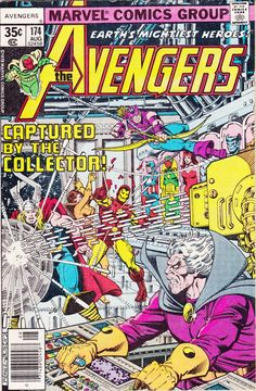 Comic The Avengers 174 MARVEL COMICS by FeedYourGeekShop, $6.50