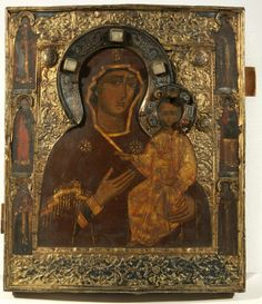 old russian icon Religious Icons, Religious Art, Old Believers, Black Jesus, Queen Of Heaven, Russian Icons, Byzantine Art, Art Icon, Orthodox Icons