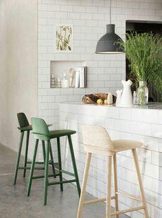Muuto Nerd Chair bar stools