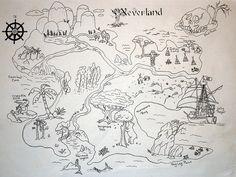 Free Printable Map of Neverland | ... Collection Galleries World Map App Garden Camera Finder Flickr Blog