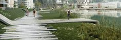 Mo I Rana Waterfront Competition Winners! - Landscape Architects Network