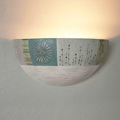 Modern Meadow Ceramic Wall Sconce 300.