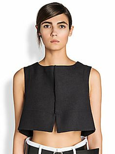 jil sander - rioja crop top