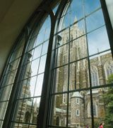 Home sweet home....a view of Duke Chapel at Duke University.