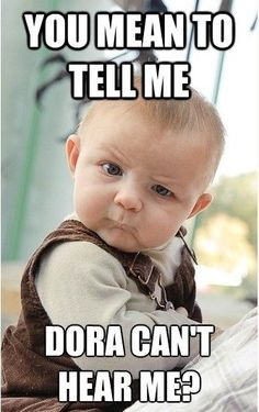 Looking for hilarious baby memes? We searched the web to find the funniest, craziest & cutest baby memes around. Check out our shortlist, you will love these! Funny Babies, Funny Kids, Cutest Babies, Kind Meme, Funny Quotes, Funny Memes, Funniest Memes, Funny Captions, Humor Quotes