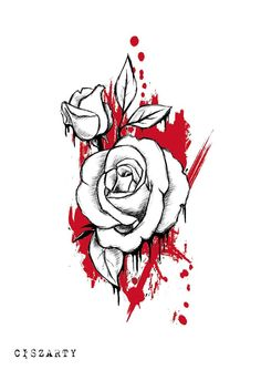 The rose. Tattoo project.