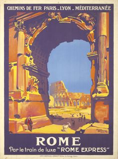 Rome. 1921 Roger Broders