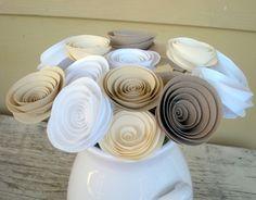 Paper flowers by tuba+taba