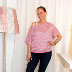 Tolle Anleitung: Blusen-Shirt Bernina Inspiration