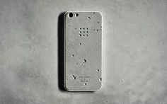 Concrete phone case