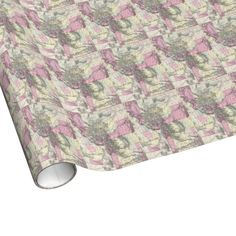 Vintage Map of Montana, Wyoming and Idaho (1884) Wrapping Paper $16.95