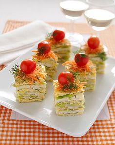 Una ricetta per un antipasto fantasioso che può rendere speciale un pranzo in compagnia