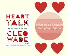 ¡Participa en nuestro SORTEO y gana un ejemplar de 'HEART TALK' de Cleo Wade! Eyeshadow, Movie Posters, Prize Draw, Eye Shadow, Film Poster, Eye Shadows, Billboard, Film Posters