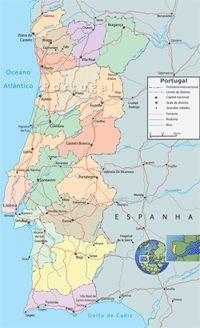 Vamos para Portugal > Mapas de Portugal - mapa rodoviário, mapa interarativo, mapas do Google Maps de Lisboa, Sintra, Porto, Fátima.