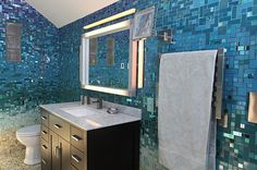 Bathroom-with-blue-mosaic-tiles
