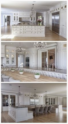 a kitchen made in heaven and the pantry that goes with it Decor Ideas Home Design Ideas DIY Interior Design home decor Coastal living Beautiful Kitchens, Cool Kitchens, Beautiful Homes, Beautiful Beautiful, Luxury Kitchens, House Beautiful, Dream Kitchens, Elegant Kitchens, White Kitchens