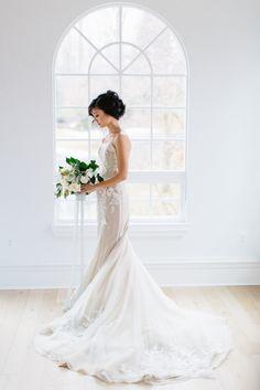 Elegant Garden Wedding Inspiration in Shades of Blue | Featured, Adorn Magazine