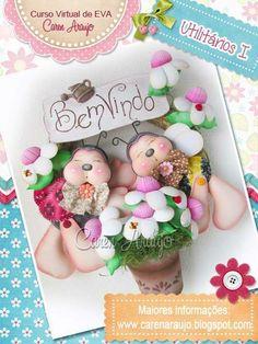 Paper Dolls, Art Dolls, Bear Doll, Pasta Flexible, Foam Crafts, Cold Porcelain, Ladybug, Fondant, Doll Clothes