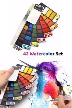 Watercolor Kit, Watercolour Tutorials, Watercolor Paintings, Watercolors, Lips Painting, Acrylic Painting Lessons, Animes Yandere, Artwork Images, Art Tutorials