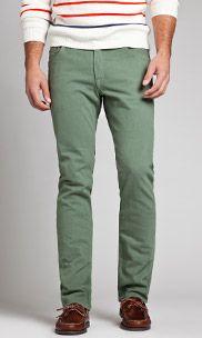 Travel Jeans - Aspen Spruce