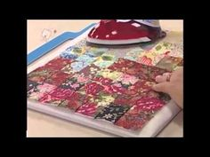 Patchwork Ana Cosentino: Watercolor (Ateliê na TV 23/11/12)