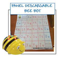 """ABECEDARIO MONTESSORI"": PANELES DESCARGABLES BEE BOT Coding For Kids, Panel, Bee, Robotics, Printables, Decor, School, Montessori Classroom, Tens And Ones"