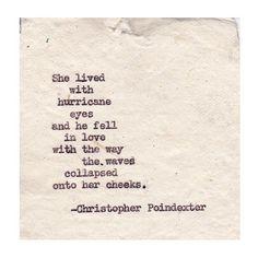 Romantic Universe poem #59 written by Christopher Poindexter