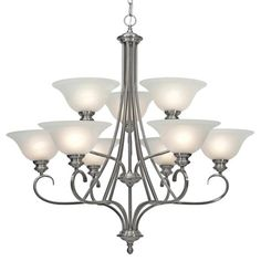 Buy the Golden Lighting PW Pewter Direct. Shop for the Golden Lighting PW Pewter Lancaster 9 Light Chandelier from the Lancaster Collection and save. Buy Chandelier, Rectangle Chandelier, Chandelier Shades, Chandelier Lighting, Chandeliers, Residential Lighting, Traditional Lighting, Types Of Lighting, Lighting Design