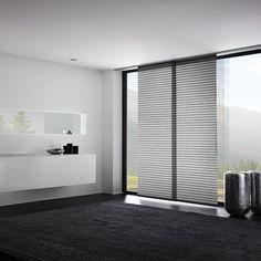 Curtains for bedroom modern - garvor Small Window Curtains, Ikea Curtains, Curtains Living, Bedroom Curtains, Panel Blinds, Panel Curtains, Modern Window Design, Sliding Door Window Treatments, Modern Blinds