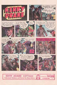 by Alfred Andriola Comic Art, Comic Books, Vintage Comics, Drake, Vancouver, Baseball Cards, Cartoons, Comics, Comic Book