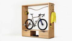 Mueble para guardar la bicicleta y los accesorios – Revista Muebles – Mobiliario de diseño