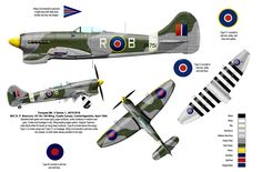 Pin Hawker Tempest Aviation Art Prints on Pinterest