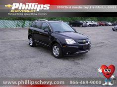 Buy a used car in Frankfort, Illinois Chevrolet Captiva Sport, Black Granite, Car Ins, Illinois, Chevy, Chicago, Metallic