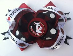 Girl's Florida State Seminoles Hair Bow by lilsydneybug on Etsy, $6.50
