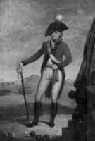 Sir Isaac Brock when he was a Captain, approximately 1792. 49th Regiment of Hertfordshire