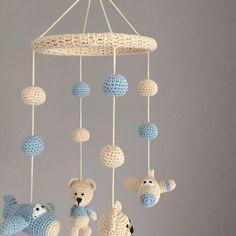 How To Crochet an Amigurumi Rabbit Crochet Baby Toys, Cute Crochet, Crochet Dolls, Crochet Baby Booties, Crochet Geek, Baby Knitting Patterns, Amigurumi Patterns, Crochet Patterns, Mobiles En Crochet