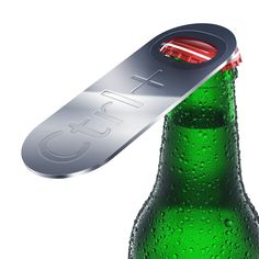 Ctrl + O is a fast way to open files on your PC, and now the guys over at Art Lebedev, though it would be a cool way to open your favourite bottle of beer, so they have created the CTRL + O Bottle Opener. Bbq Pics, Voss Bottle, Water Bottle, Bottles, Shops, Beer Opener, Lose Weight, Weight Loss, Thing 1