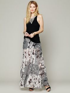 Free People Your Dreams Maxi Skirt at Free People Clothing Boutique