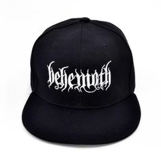 9412640d3a0 Behemoth Death Punk Baseball Cap. Metal BandsPunk ...