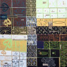 Atelier D Art, Maori Art, Mixed Media, Quilts, Artists, Inspiration, School, Design, Creative Art