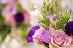 wedding decor purple flowers http://corneannphotography.wix.com/corneannphotography